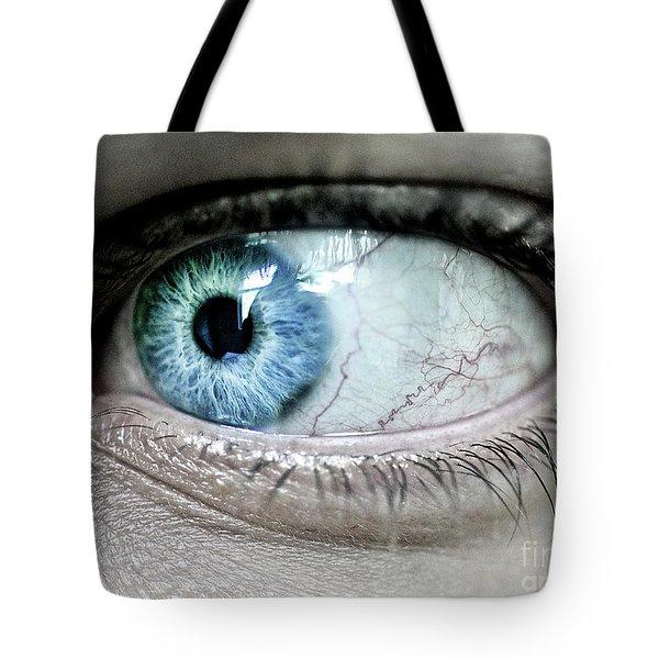 Beautiful Blue Eye Tote Bag