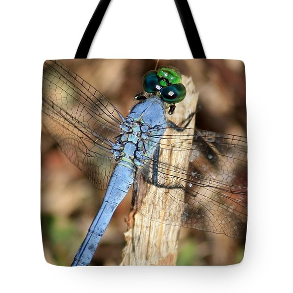 Beautiful Blue Eyes Tote Bag by Carol Groenen