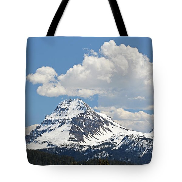 Beautiful Bow Lake Tote Bag