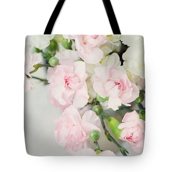 Beautiful Carnations Tote Bag