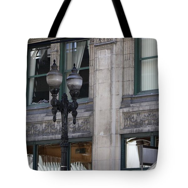 Beautiful Chicago Gothic Grunge Tote Bag
