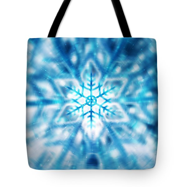 Beautiful Christmas Background Tote Bag