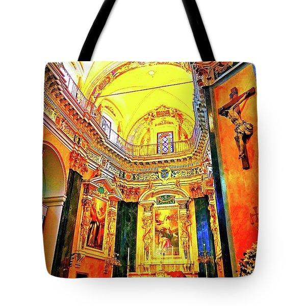 Beautiful Church In Nizza Tote Bag