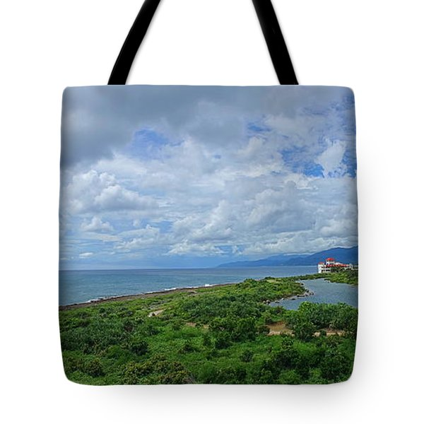 Tote Bag featuring the photograph Beautiful Coastline Of Southern Taiwan by Yali Shi