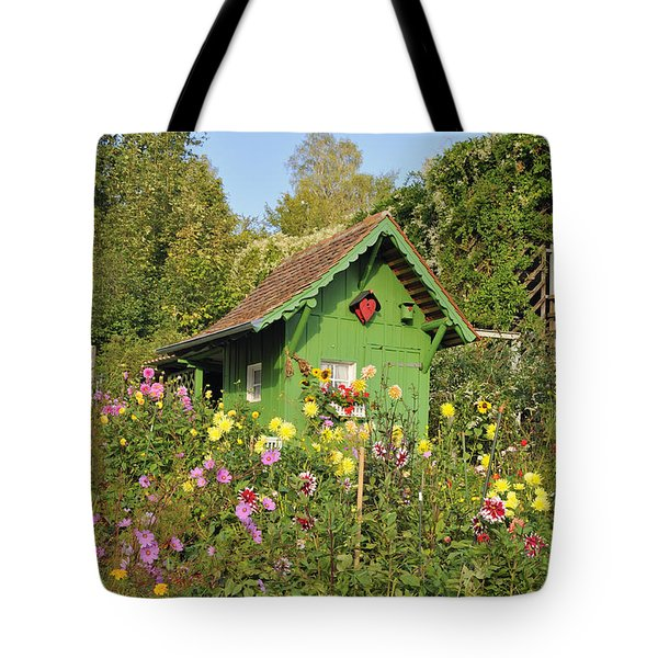 Beautiful Colorful Flower Garden Tote Bag