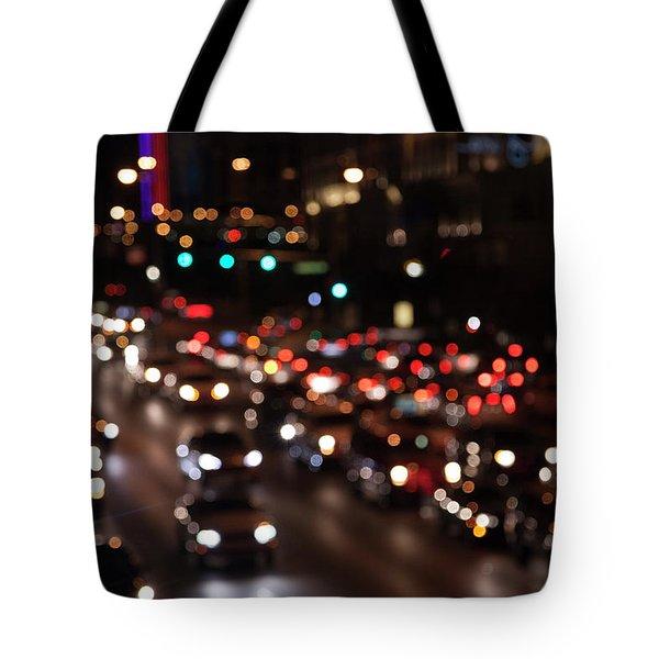 Beautiful Congestion Tote Bag