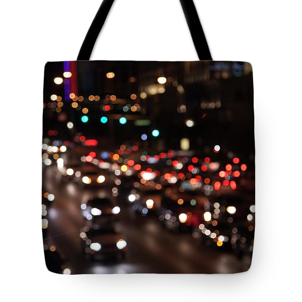 Beautiful Congestion Tote Bag