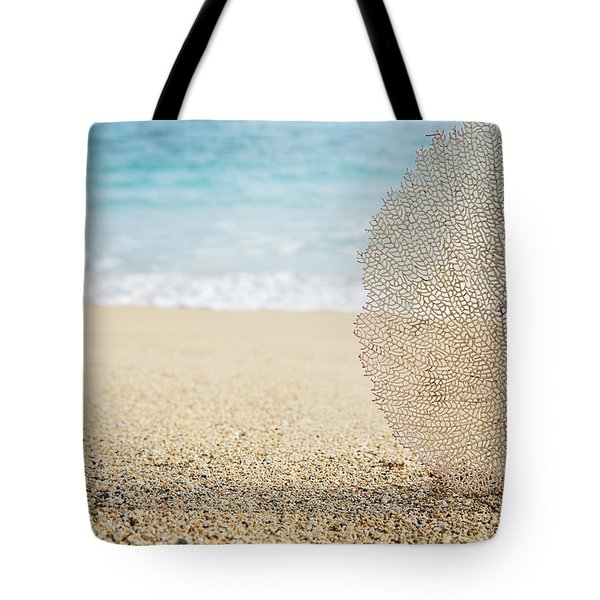 Beautiful Coral Element 1 Tote Bag by Brandon Tabiolo - Printscapes