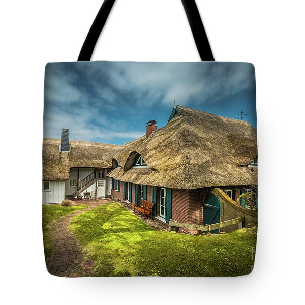 Beautiful Cottage Tote Bag
