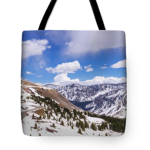 Tote Bag featuring the photograph Beautiful Cottonwood Pass by Tim Reaves