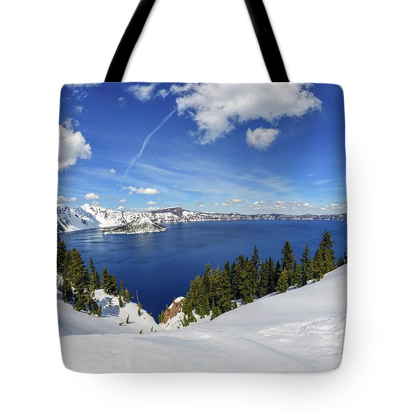 Beautiful Crater Lake Tote Bag