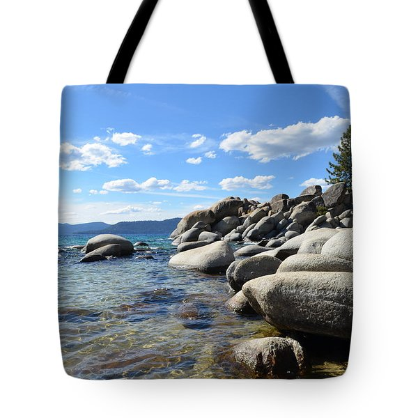 Tote Bag featuring the photograph Beautiful Day At Lake Tahoe by Alex King