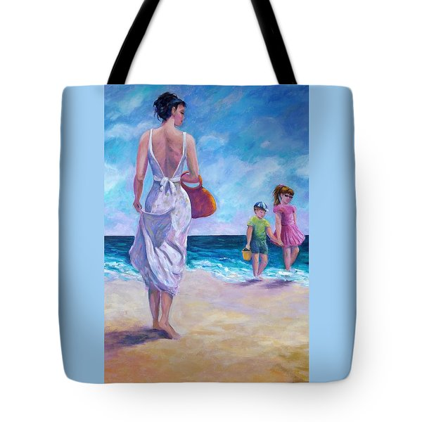 Beautiful Day At The Beach Tote Bag