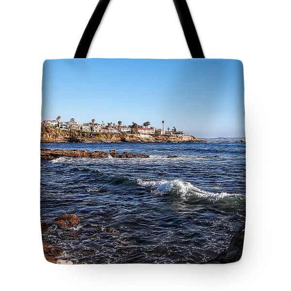 Beautiful Day In La Jolla Tote Bag by Glenn McCarthy Art and Photography