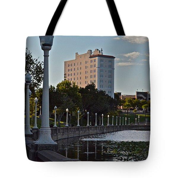 Beautiful Downtown Lakeland Tote Bag