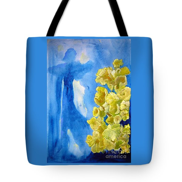 Tote Bag featuring the painting Beautiful Dreamer by Sandy McIntire