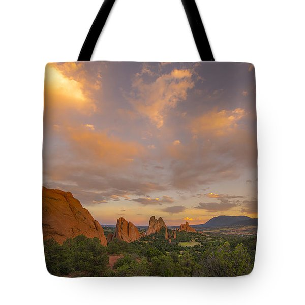 Beautiful Earth And Sky Tote Bag