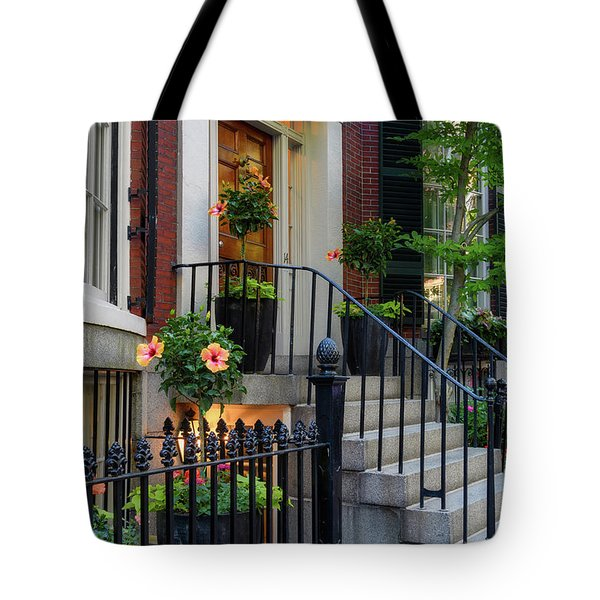 Tote Bag featuring the photograph Beautiful Entrance by Michael Hubley