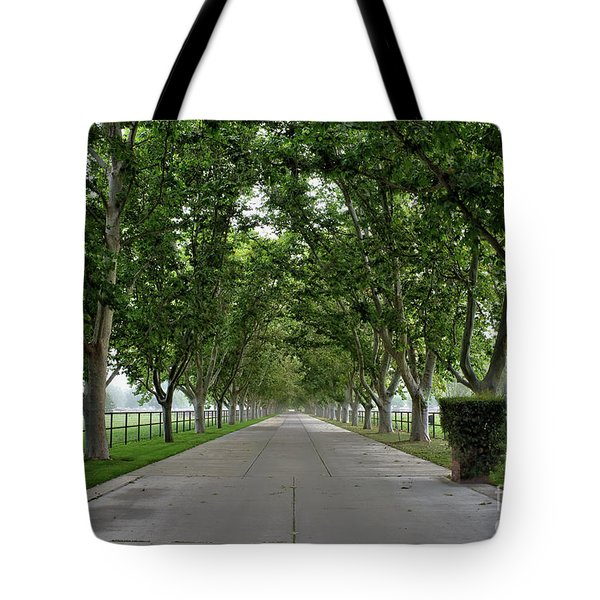 Entrance To River Edge Farm Tote Bag