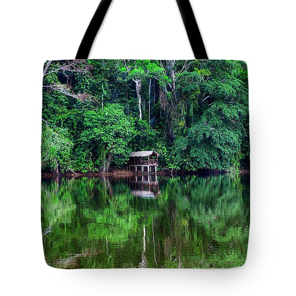 Beautiful Evening On A Lake Tote Bag