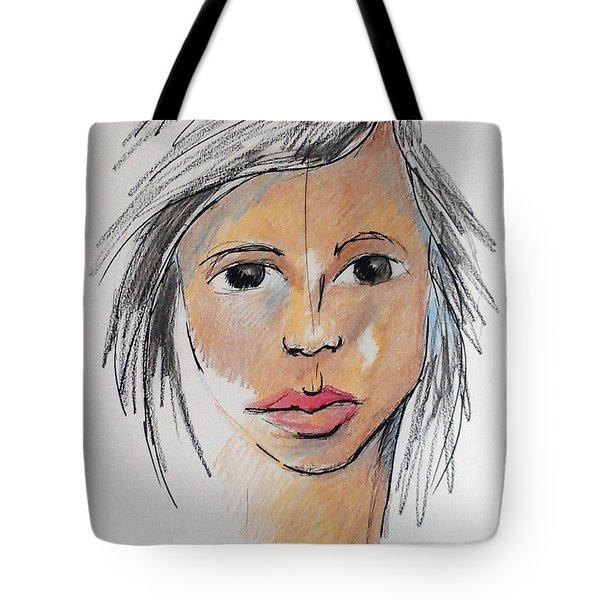 Beautiful Face 68 Tote Bag
