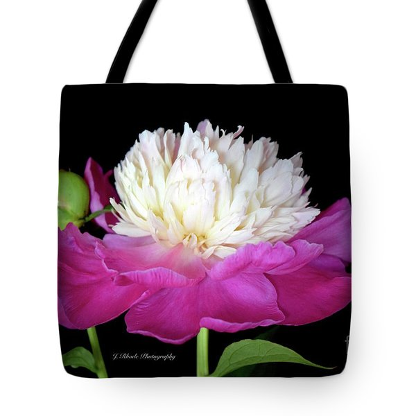 Beautiful Fancy Peony Tote Bag