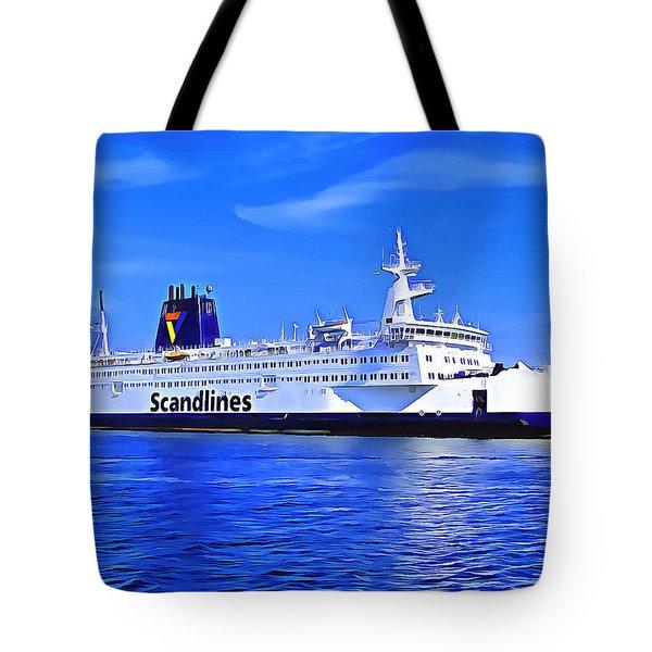 Beautiful Ferry Tote Bag