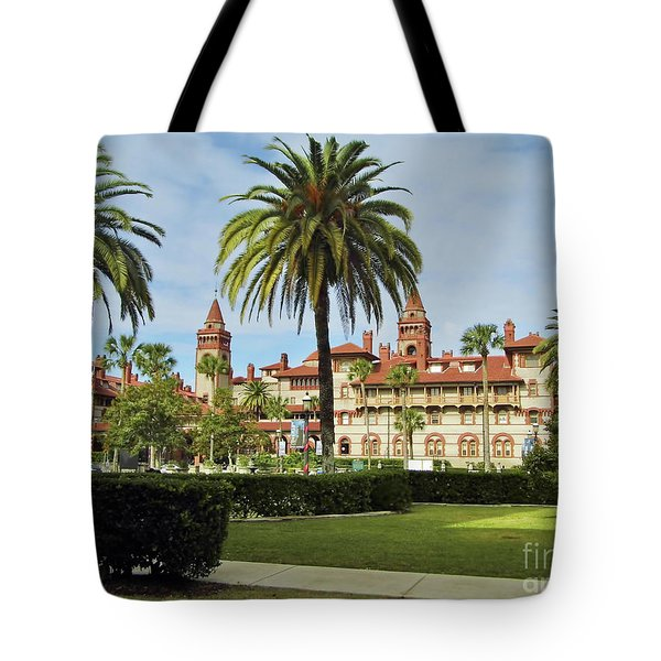 Beautiful Flagler College Tote Bag
