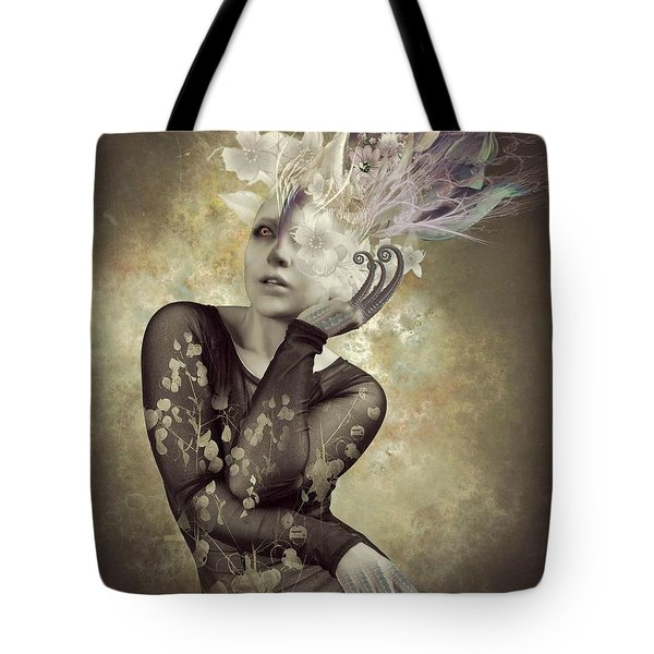 Beautiful Freak Tote Bag by Ali Oppy