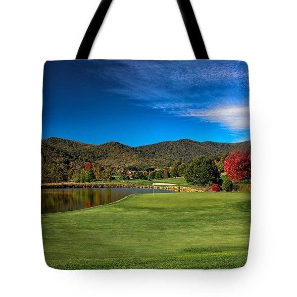 Colorful Golf Tote Bag