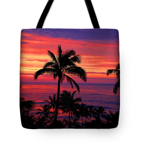 Beautiful Hawaiian Sunset Tote Bag