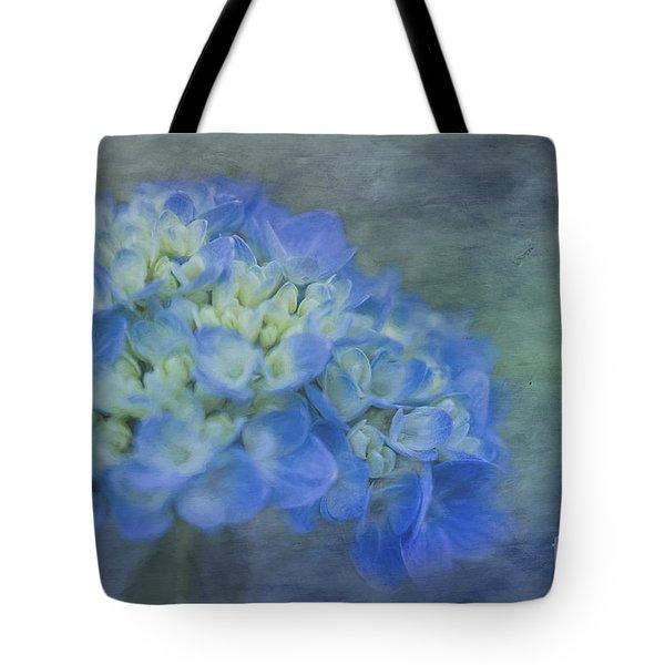 Beautiful In Blue Tote Bag by Linda Blair