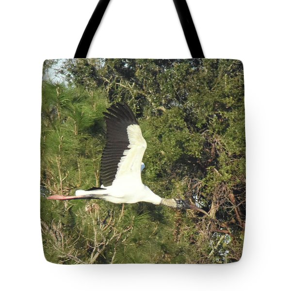 Tote Bag featuring the pyrography Beautiful In Flight by Sally Sperry