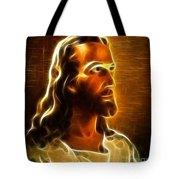 Beautiful Jesus Portrait Tote Bag