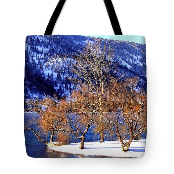 Tote Bag featuring the photograph Beautiful Kaloya Park by Will Borden