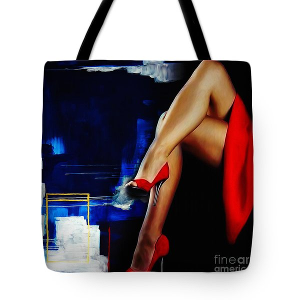 Beautiful Legs 02  Tote Bag by Gull G
