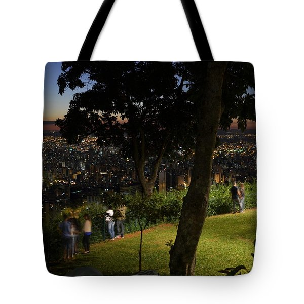 Beautiful Location In Bh #vistapoint Tote Bag by Carlos Alkmin