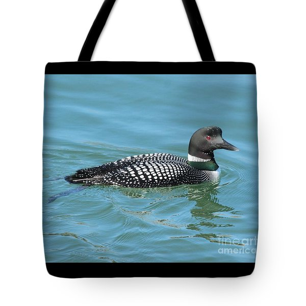 Beautiful Loon Tote Bag