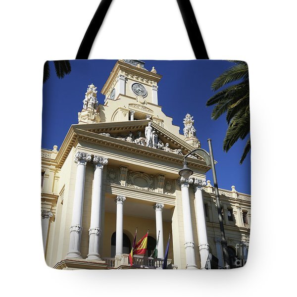 Beautiful Malaga City Hall Tote Bag