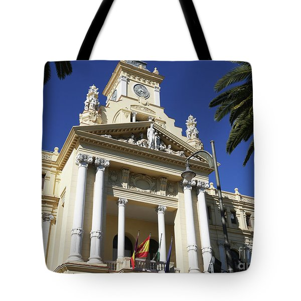 Beautiful Malaga City Hall Tote Bag