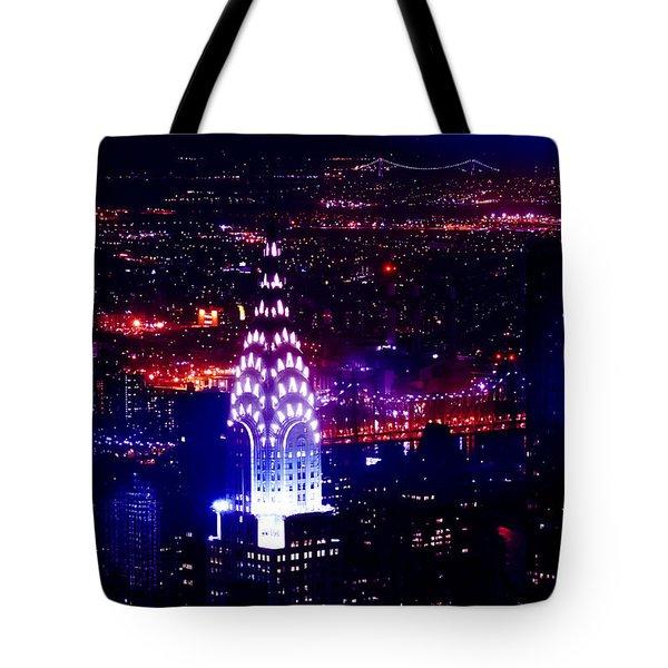 Beautiful Manhattan Skyline Tote Bag