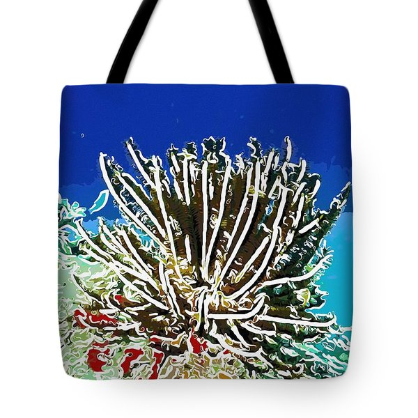 Beautiful Marine Plants 11 Tote Bag by Lanjee Chee