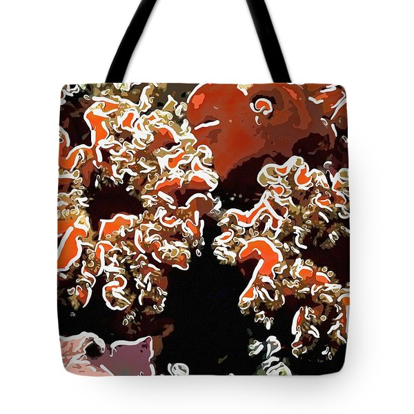 Beautiful Marine Plants 5 Tote Bag by Lanjee Chee