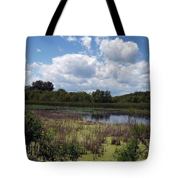 Beautiful Marsh View Tote Bag