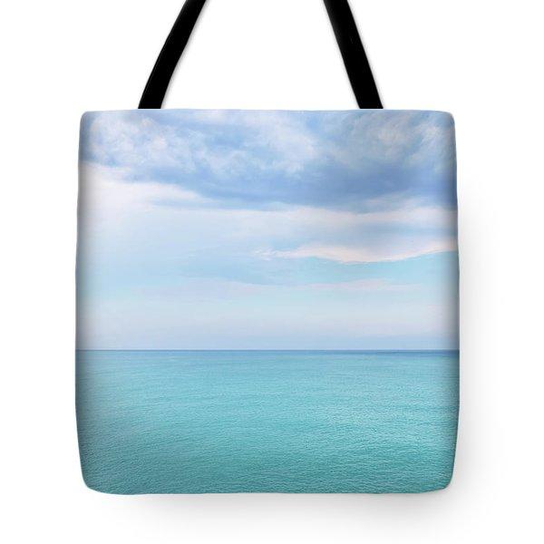 Beautiful Mediterranean Sea Tote Bag