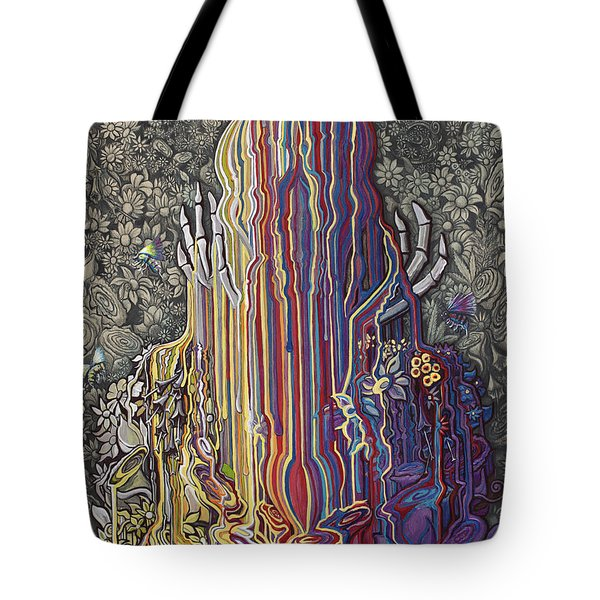 Beautiful Meltdown Tote Bag
