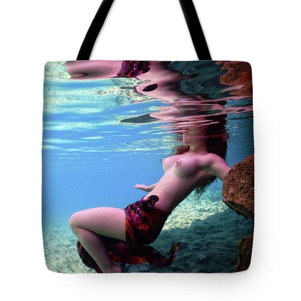 Beautiful Mermaid Tote Bag