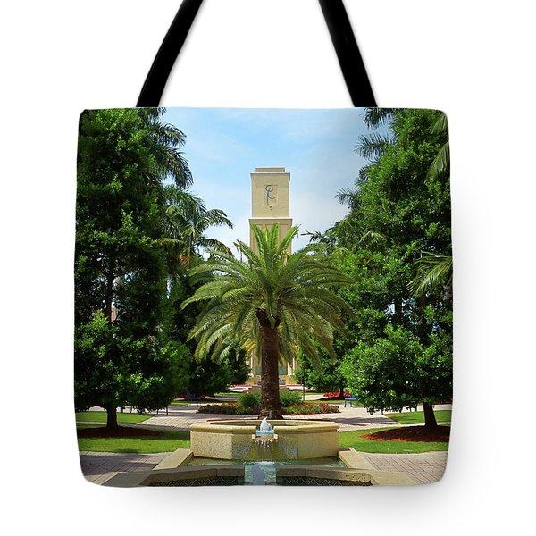 Beautiful Mizner Park In Boca Raton, Florida. #7 Tote Bag
