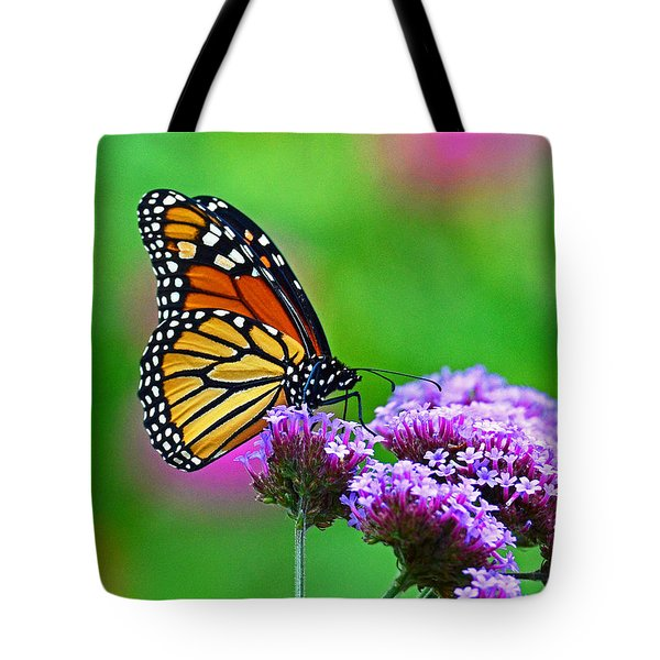 Tote Bag featuring the photograph Beautiful Monarch by Rodney Campbell