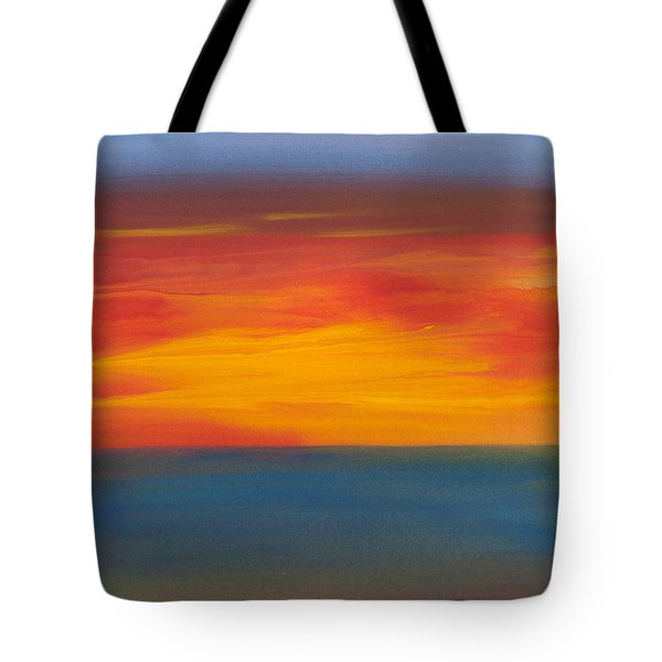 Beautiful Morning Tote Bag by Bonnie Rabert